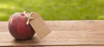 органический персик Стоковая Фотография RF