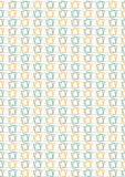Органический прямоугольный мотив Стоковые Фотографии RF