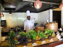 Органический ресторан Стоковые Фотографии RF