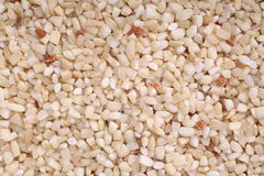 Органический сломанный коричневый рис Стоковые Изображения RF