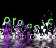 органическое конструкции флористическое Стоковые Фотографии RF