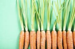 органическое морковей свежее Стоковые Фото