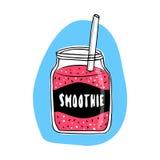Органическое свежее питье коктеиля smoothie Стоковые Изображения RF