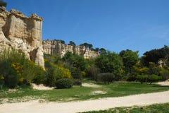 Органы Ille-Sur-Tet, Франции стоковое фото rf