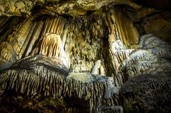 Орган природы в пещере стоковая фотография