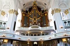 Орган церков Стоковая Фотография RF