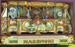 орган marenghi 89 fairground ключевой Стоковая Фотография RF