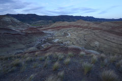 Орегон покрасил холм стоковая фотография