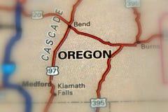 Орегон - Соединенные Штаты u S Стоковое Фото