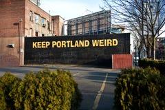 Орегон portland стоковое изображение rf