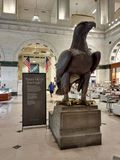 Орел, грандиозный суд, Филадельфия, Пенсильвания, США стоковая фотография