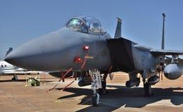 Орел забастовки военновоздушной силы F-15E Стоковое Изображение RF