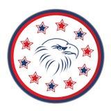 орел играет главные роли США Стоковое Изображение