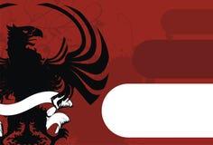 орел предпосылки heraldic Стоковое Изображение RF