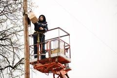 Орел, Россия, 18-ое февраля 2018: Масленица Maslenitsa emergency стоковые изображения rf