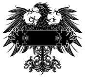 Орел с скейтборд Стоковые Изображения