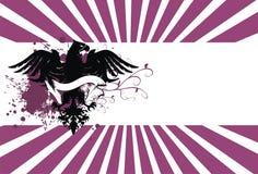 орел 2 предпосылок heraldic Стоковая Фотография