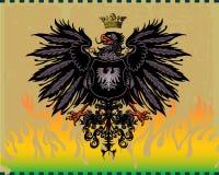 орел heraldic Стоковое фото RF