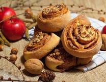 Ореховый пирог Стоковое Изображение RF