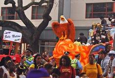Орел представляя нацию Зулуса Стоковое Изображение RF