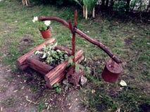 Оригинальная идея для сада стоковое изображение rf