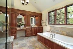оригинал ванны домашний роскошный стоковые изображения