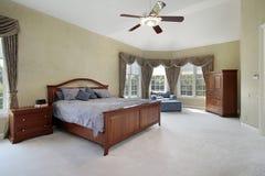 оригинал спальни домашний роскошный стоковая фотография