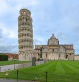 Ориентир ориентир башни склонности Пизы в Италии Стоковое Изображение RF