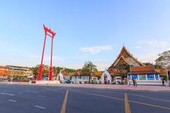Ориентир ориентир гигантского качания города Бангкока/ориентир ориентир Ching Cha Sao в городе Бангкока Стоковое Изображение