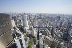 Ориентир ориентиры архитектуры горизонта Сан-Паулу Бразилии Стоковое Изображение