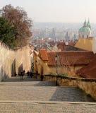 Ориентир ориентиры, в замке Праги сложном, чехия Замок Праги посещать привлекательность в городе Стоковая Фотография RF