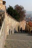 Ориентир ориентиры в замке Праги сложном, чехия Замок Праги посещать привлекательность в городе Стоковые Фото