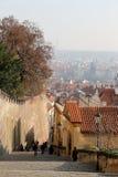 Ориентир ориентиры, в замке Праги сложном, чехия Замок Праги посещать привлекательность в городе Стоковое Изображение RF