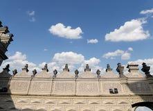 Ориентир ориентиры в замке Праги сложном, чехия Замок Праги посещать привлекательность в городе Стоковые Изображения