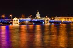 Ориентир ориентиры острова Vasilievsky Стоковое фото RF