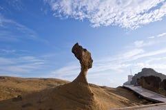 Ориентир ориентиры Тайваня геологохимические стоковое фото