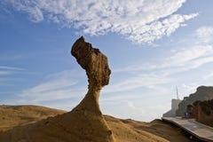 Ориентир ориентиры Тайваня геологохимические стоковая фотография rf
