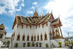 Ориентир ориентир Бангкока самый известный был построен 1782. Внутри дворец Стоковые Фотографии RF