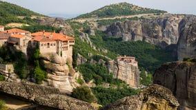 Ориентир ориентир Греция монастыря Meteora стоковая фотография