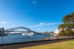 Ориентир ориентир Сиднея самый известный Стоковые Фото