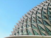 Ориентир ориентир театров эспланады известный в Сингапуре Стоковые Изображения RF