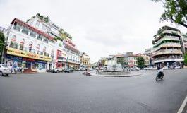 Ориентир ориентир Ханоя и известного места для серий Стоковое Изображение RF
