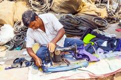 ОРИССА, ИНДИЯ - 10-ое ноября - индийские люди Стоковые Фотографии RF