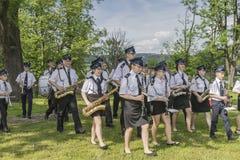 Оркестр пожарного Стоковое Фото