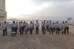 Оркестр St Tropez пожарной команды стоковая фотография rf