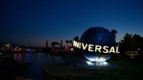 ОРЛАНДО, США - 2-ОЕ ОКТЯБРЯ 2014: Известный всеобщий глобус на ООН Стоковые Изображения RF