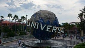Орландо, Флорида, США - 15-ое сентября 2018 - ночи ужаса хеллоуина студий Universal стоковые фотографии rf