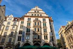 Орландо Haus - центр города исторического здания внутри Мюнхена стоковые изображения rf
