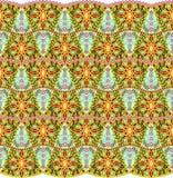 Орнаментальная безшовная картина Стоковые Фотографии RF