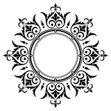 Орнаментальная рамка граници сбора винограда Стоковая Фотография RF